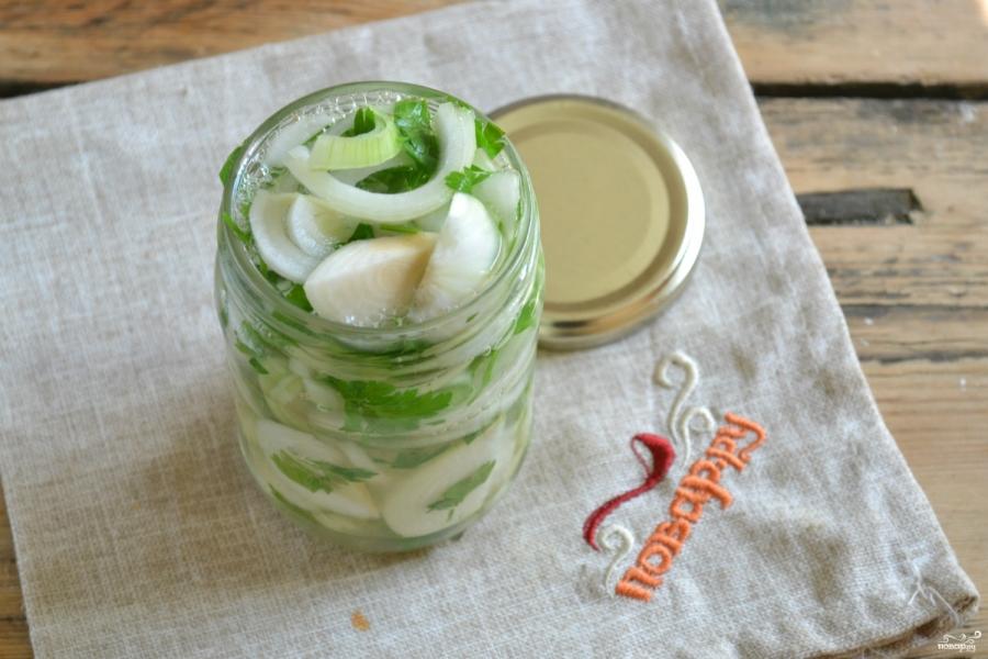 салат из лука на зиму рецепты с фото