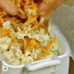Луковый кекс с сыром - фото шаг 6