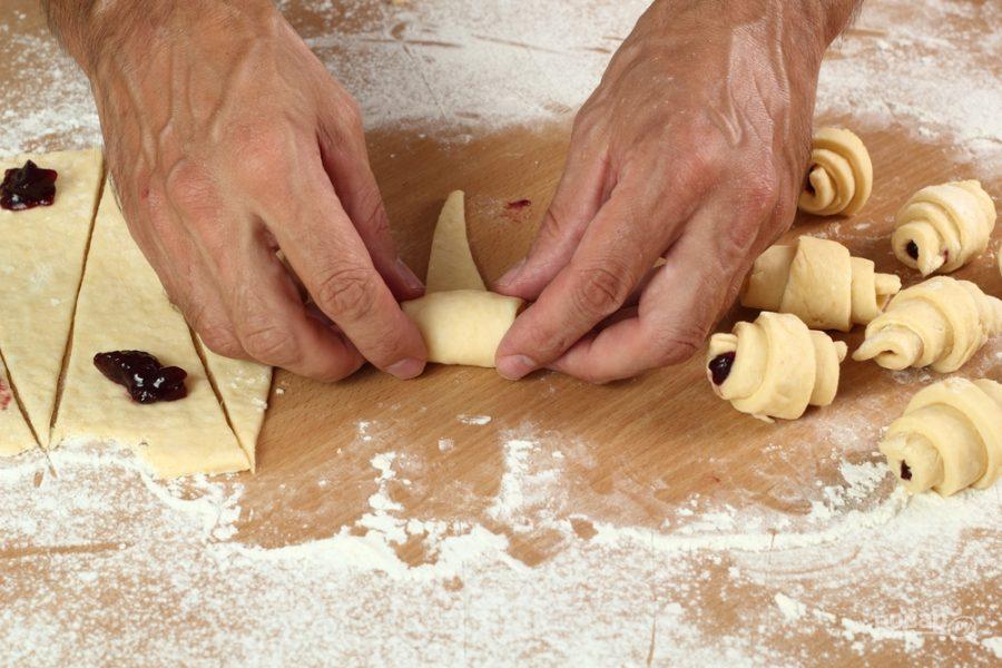 Песочные рогалики рецепт с пошагово