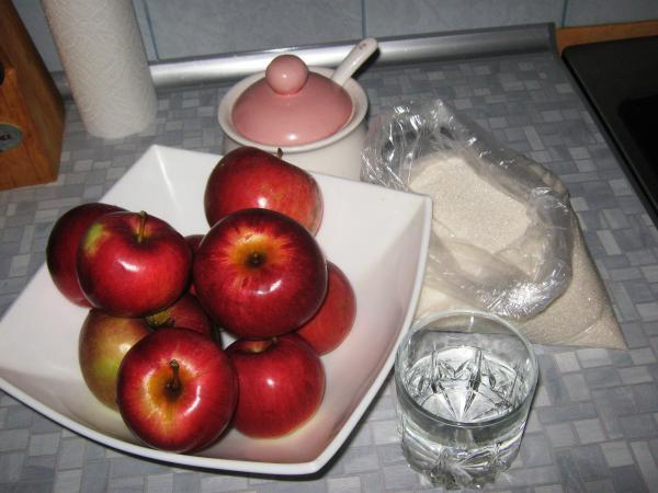 Рецепт Варенье из яблок в сиропе