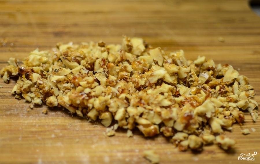 Фруктовый салат с орехами - фото шаг 10