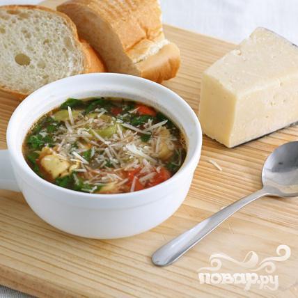 Суп с пельменями - фото шаг 8