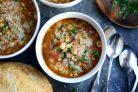 Итальянский фасолевый суп