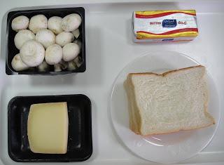 Рецепт Тосты с сыром и грибами