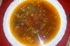 Фасолевый суп без картошки