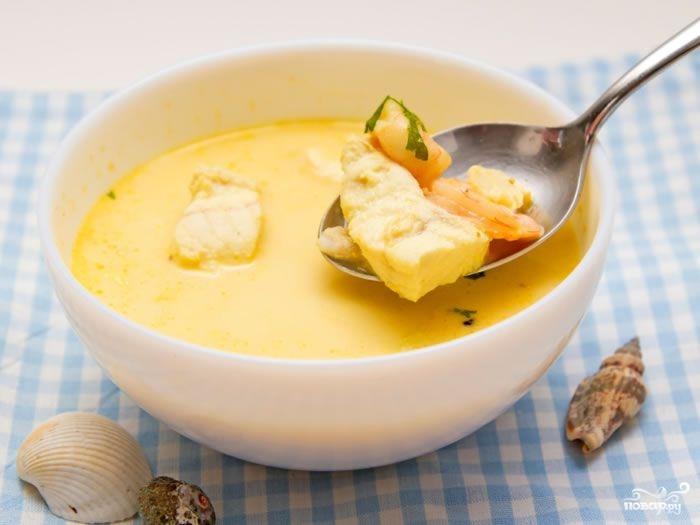 Сырный суп из плавленного сыра с курицей  рецепт с