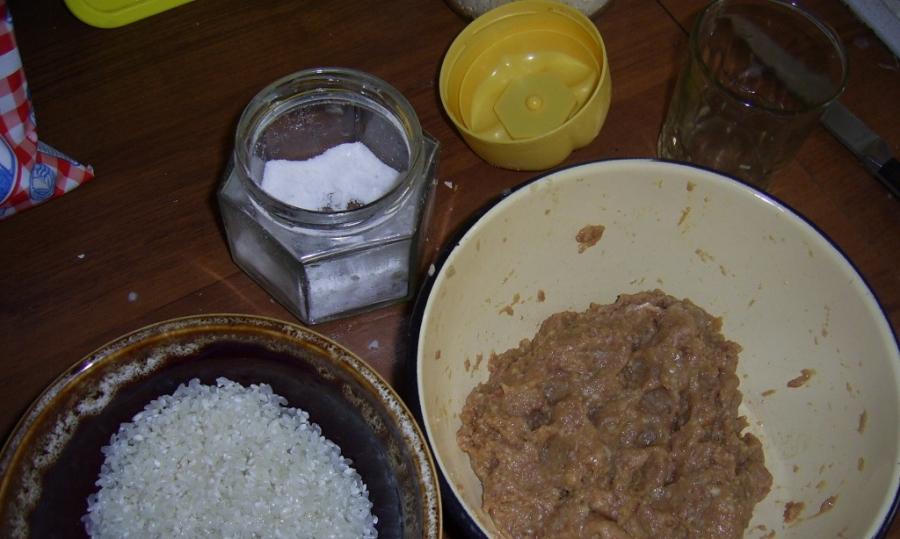 Рецепт Фрикадельки из говядины для ребенка