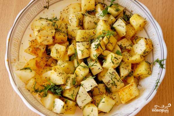 Жаркое в горшочках по-вегетариански - фото шаг 3