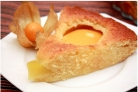 Быстрый пирог с консервированными персиками