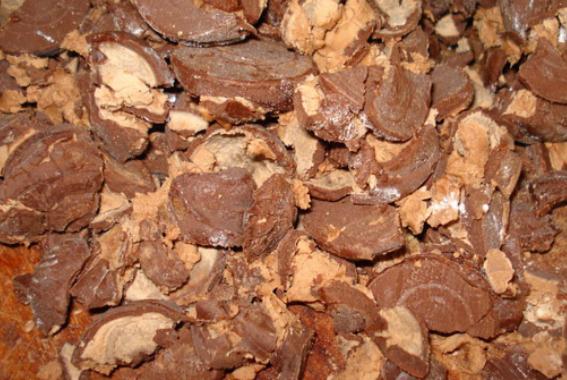Торт из конфет - фото шаг 1