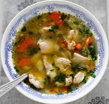 Чечевичный суп с курицей  - фото шаг 5