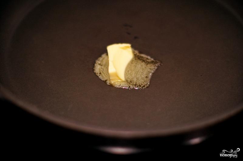 Омлет с голубым сыром - фото шаг 4