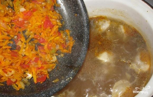 Суп на скорую руку - фото шаг 7