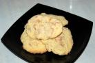 Песочное печенье с курагой
