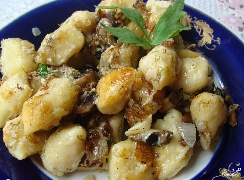 Как быстро приготовить картофель с грибами