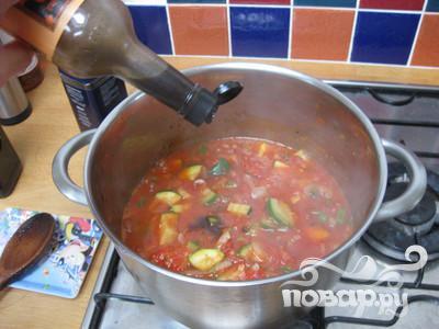 Томатный суп с цуккини - фото шаг 15