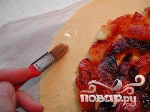 Пирог с карамельными яблоками - фото шаг 9