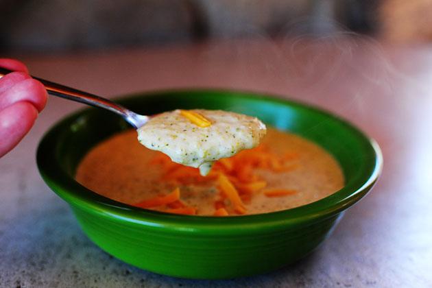 Суп-пюре с сыром - фото шаг 8