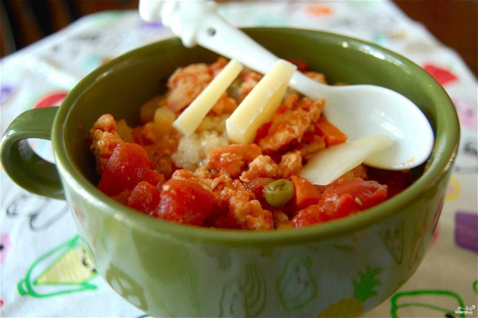 Рецепт Гуляш из индейки