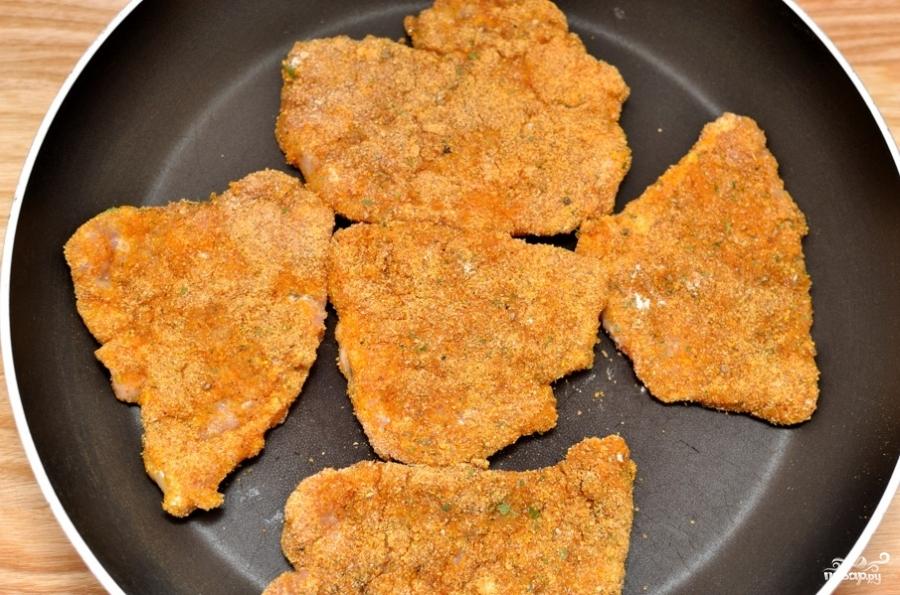 Отбивные из свинины на сковороде в кляре рецепт с пошагово