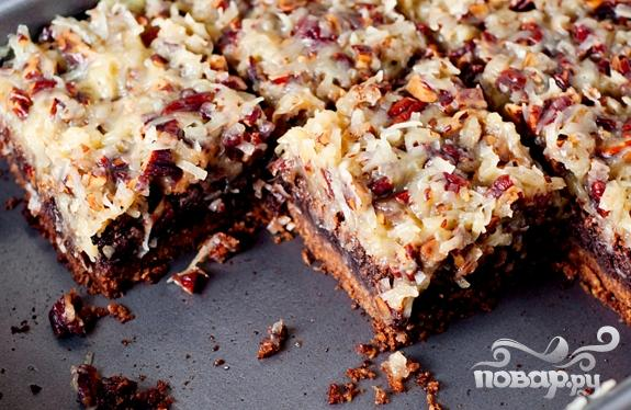 Пирожные с орехами и кокосовой стружкой - фото шаг 6