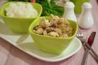 Куриное филе в сметанном соусе