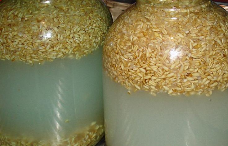 Брага из пшеницы - фото шаг 3