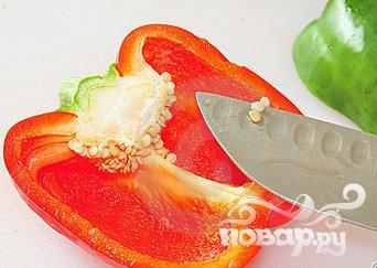 Витаминный напиток из свеклы, манго и помидор - фото шаг 5