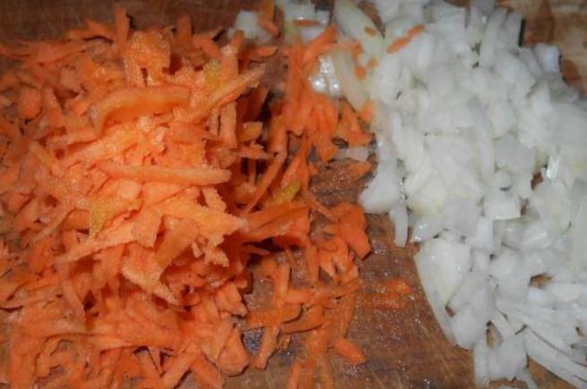 Фасолевый суп на говяжьем бульоне - фото шаг 3