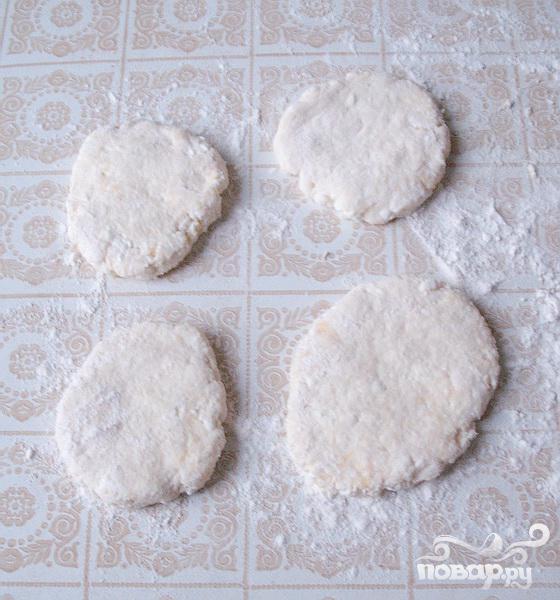Сырники со сгущенным какао - фото шаг 3