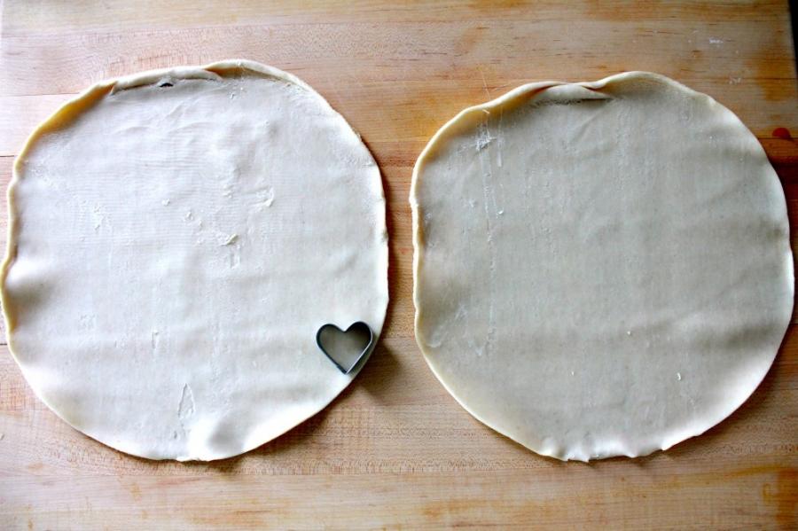 Клубничный пирог из слоеного теста - фото шаг 2