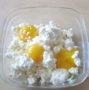 Сырники в духовке диетические - фото шаг 2