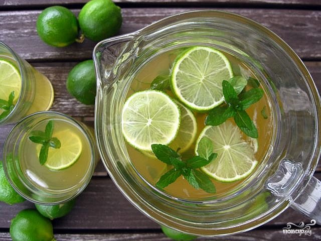 зеленый чай с мятой для похудения