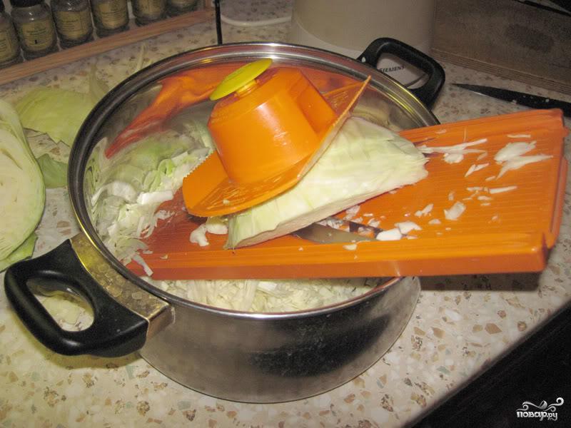 Солянка из капусты - фото шаг 1