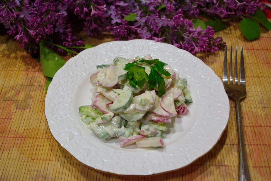 """Салат """"Огород"""" - фото шаг 5"""