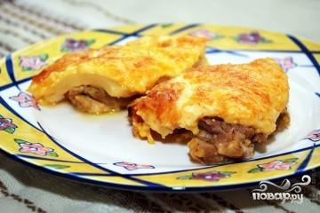 Куриные отбивные с ананасом и сыром в духовке - фото шаг 6