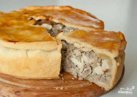 Рецепт Мясная начинка для пирогов