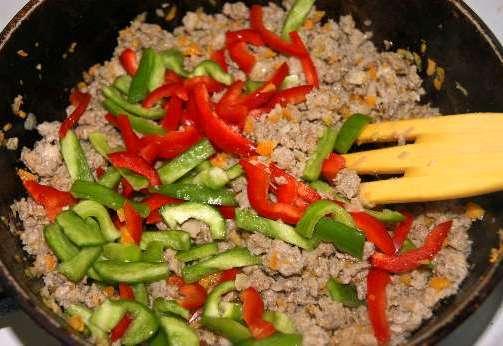 Ризотто с овощами и мясом - фото шаг 5