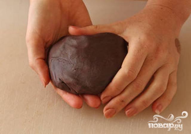 Шоколадная мастика - фото шаг 3