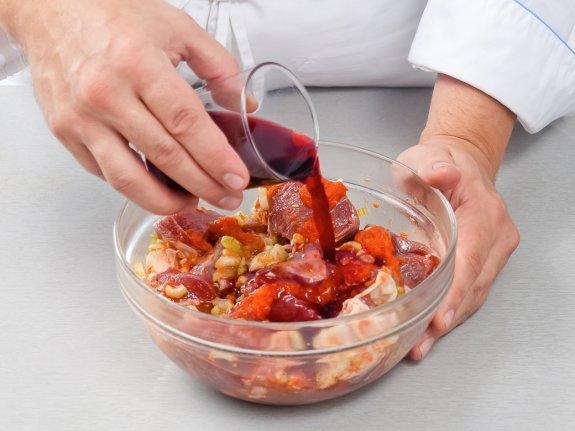 Рецепт Запеченная баранина в мультиварке