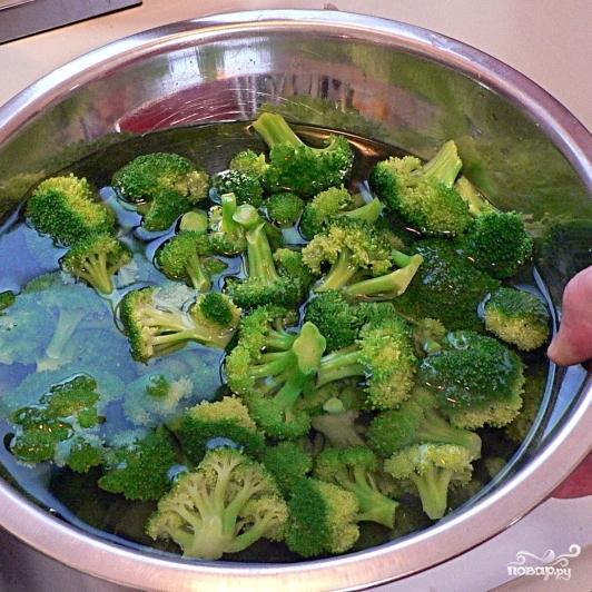 Салат с брокколи - фото шаг 7