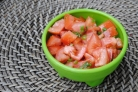 Салат из помидоров и чеснока