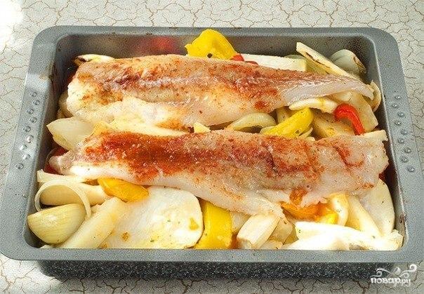 Запеченная треска с овощами - фото шаг 3