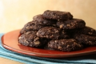 Шоколадное печенье с овсяными хлопьями