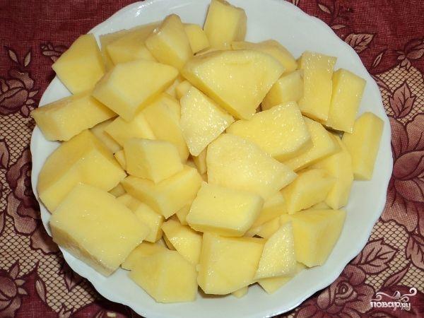 Картофельные котлеты с сыром - фото шаг 1