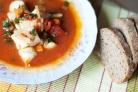 Суп из соленой трески