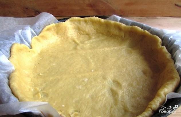 Вишневый пирог с заливкой - фото шаг 5