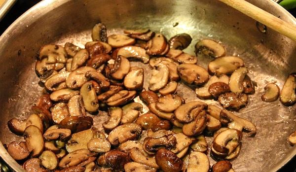 Лазанья с баклажанами и грибами - фото шаг 3