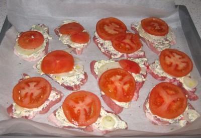 Рецепт Свинина под сыром в духовке