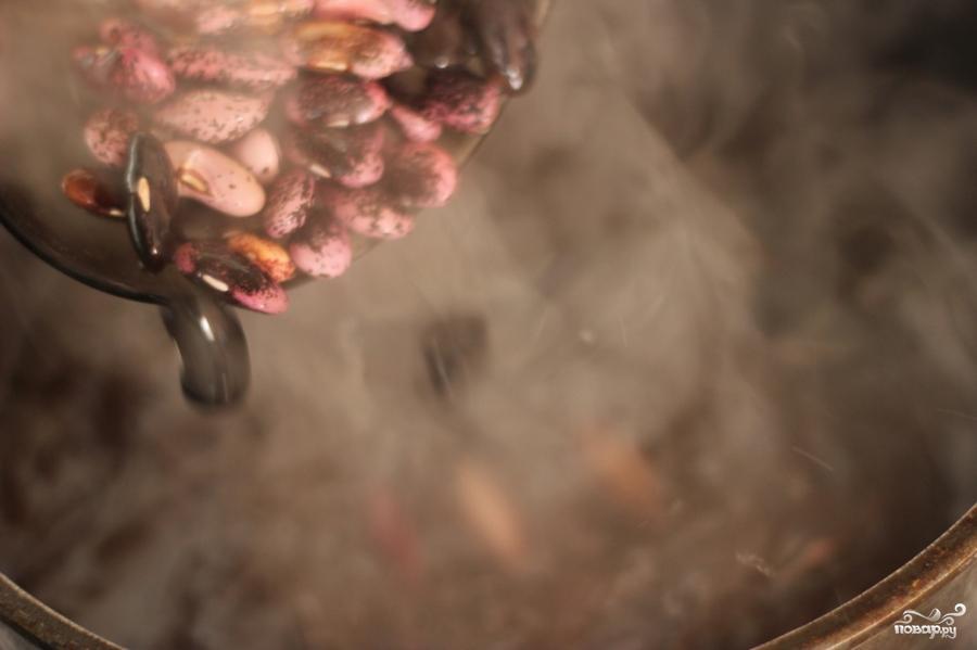 Фасолевый суп Дал Таркари - фото шаг 2